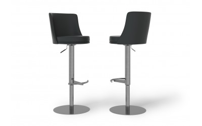 Brianna Bar Stool Black