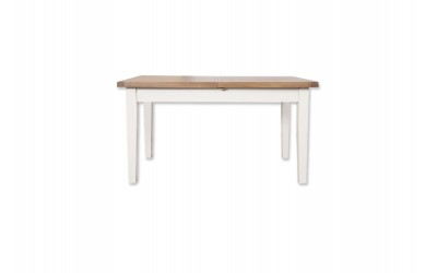 Perth Painted White Ext Dining Table