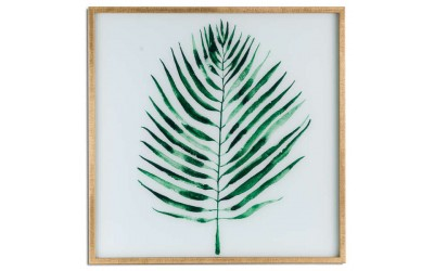 Palm Grass Framed Art