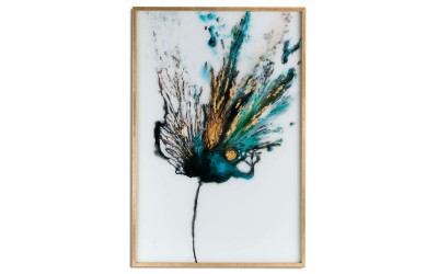 Hill Interiors Floral Explosion Wall Art