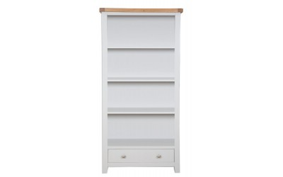 Perth Painted Grey Large Bookcase