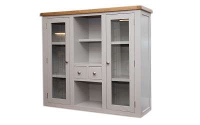 Perth Painted Grey Glazed Dresser Top
