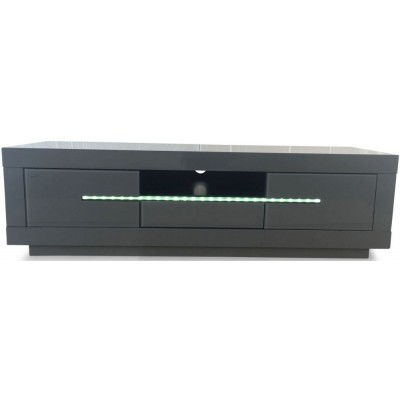 Montana Grey High Gloss TV/Media Unit with LED