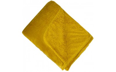 Malini Cosy Throw Mustard