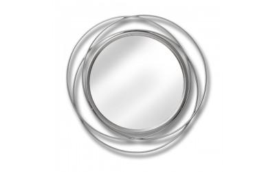 Silver Swirl Mirror