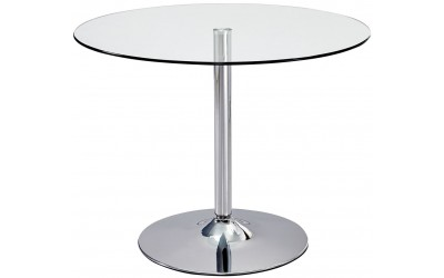 Ella Round Glass Dining Table