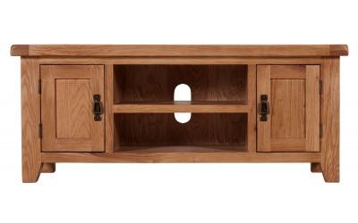 Shetland Oak 1.2m TV Cabinet