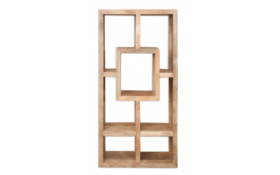 Havana Rectangular Display Cabinet