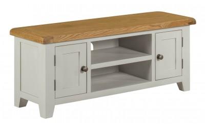 Shetland Grey Oak 1.2m TV Cabinet
